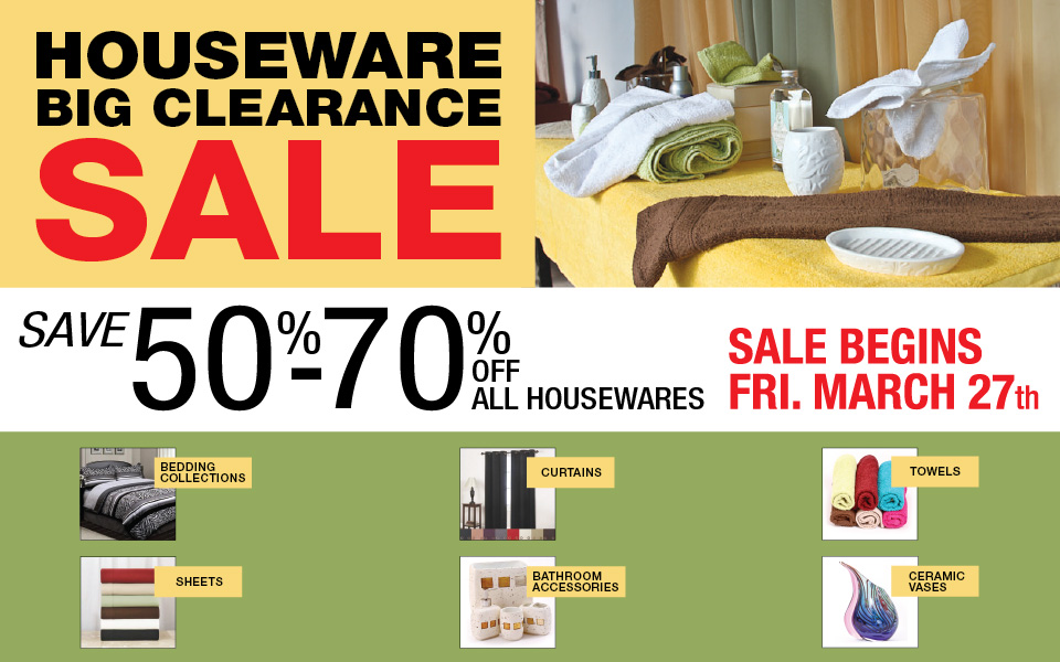 Big Clearance Sale!